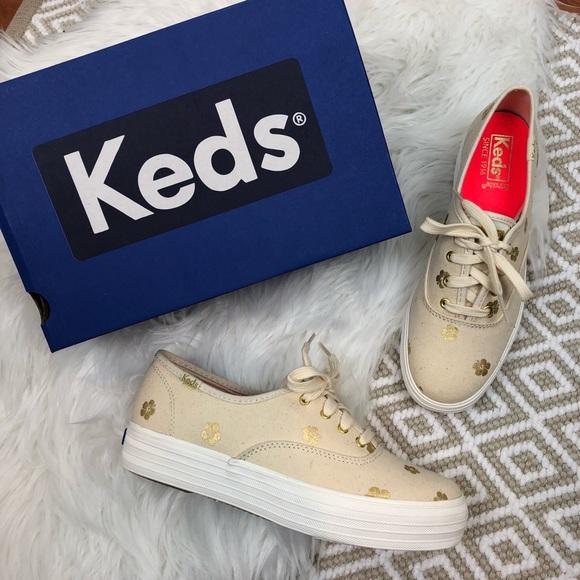 Keds Triple Hibiscus Platform Sneaker